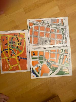 otevřená hmatová  mapa Plzně