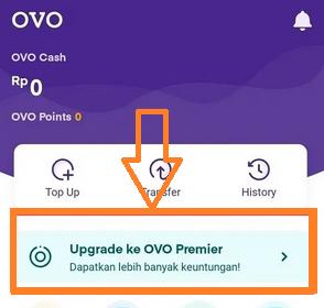 Cara Upgrade Akun OVO ke Premium Dengan Mudah
