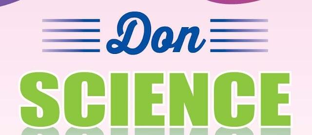 10ம் வகுப்பு Science பாடத்திற்கு Don நிறுவனம் வெளியிட்டுள்ள முழுமையான கையேடு English Medium