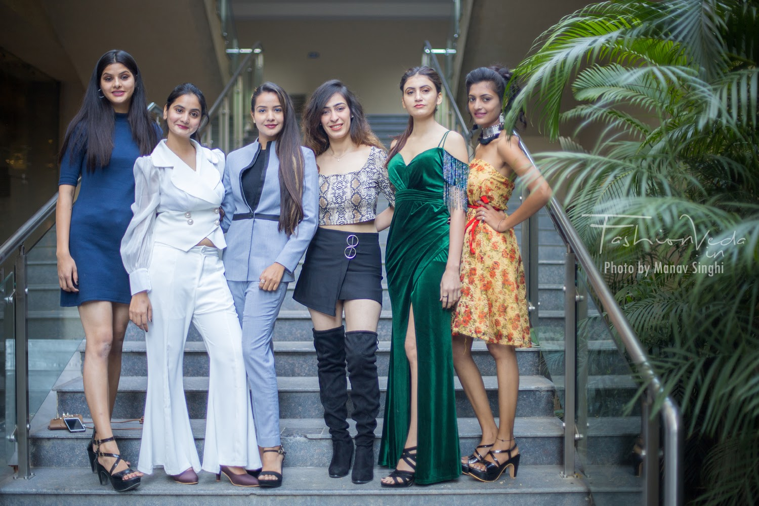 Participants at Elite Miss Rajasthan 2020