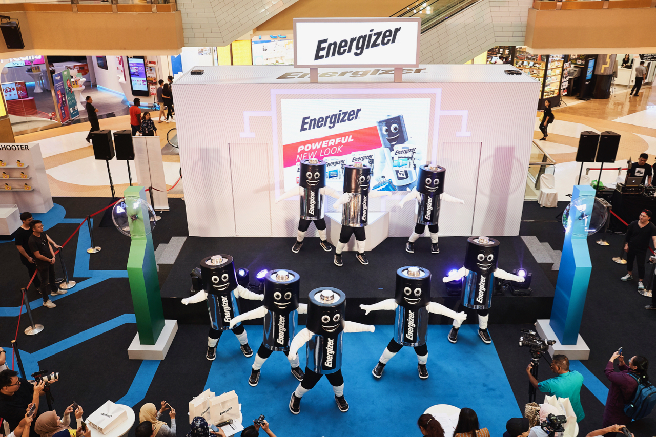 Mr Energizer™ Icon With Its Energizer® Max Plus™ No 1