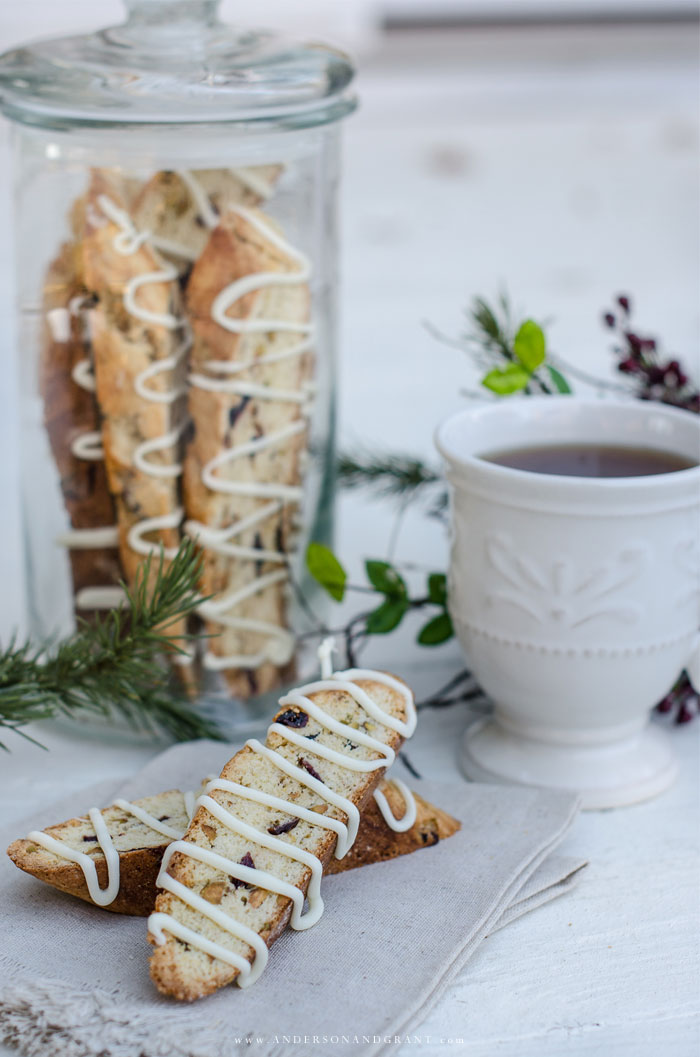Holiday Cranberry Biscotti