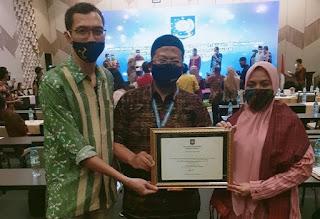 Keren, Kabupaten Bima Raih Penghargaan Nasional Konvergensi Stunting