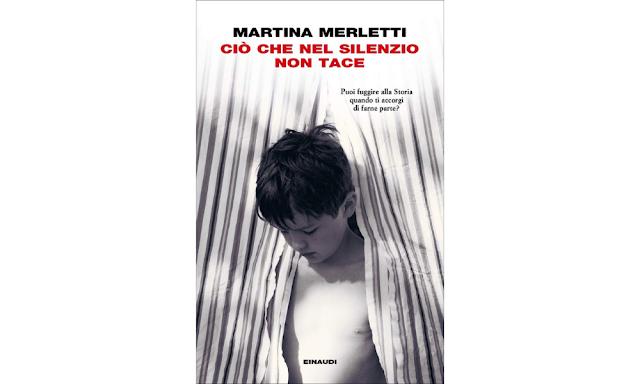 Martina Merletti, copertina di Ciò che nel silenzio non tace