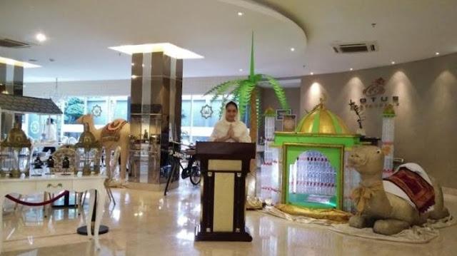 Dekorasi Ramadhan di Hotel