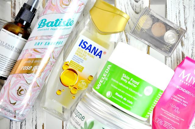 annabelle minerals, batiste, isana, weleda, miya cosmetics, efektima, eveline, glamshop, l'biotica, sattva, vianek
