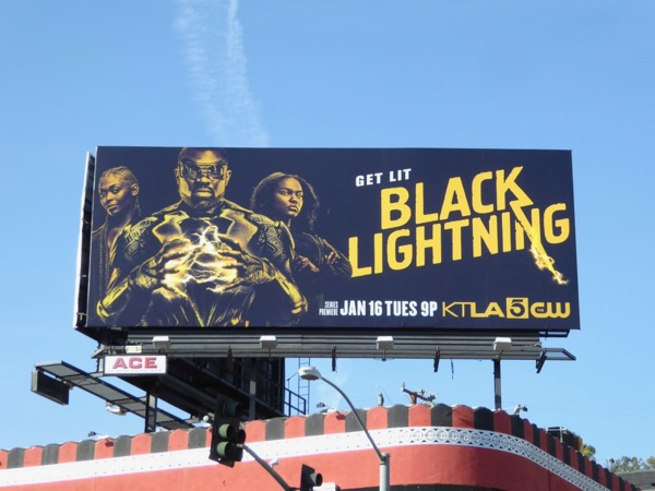 Black Lightning Get Lit billboard