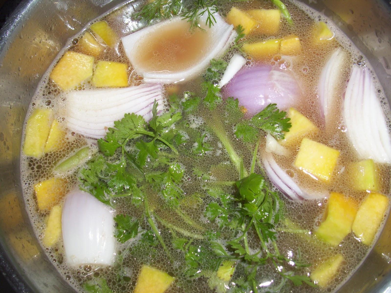Cocina casera rep blica dominicana ingredientes para guisar unas habichuelas bien ricas - Como cocinar alubias rojas ...
