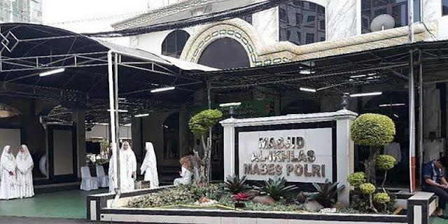 Saat ZA Menghindari Masjid Al Ikhlas Dan Menembaki Pos Jaga Mabes Polri