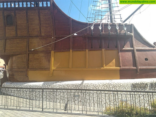 El Barco de la Virgen cumple un año sin un mástil y la Fuente del Enano sigue abandonada