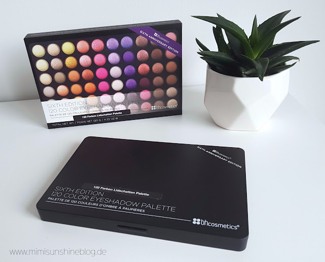 BH Cosmetics 6th Edition Lidschattenpalett