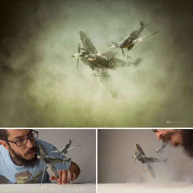 Fotógrafo usa todo seu talento e criatividade para criar belas fotos com Action Figures