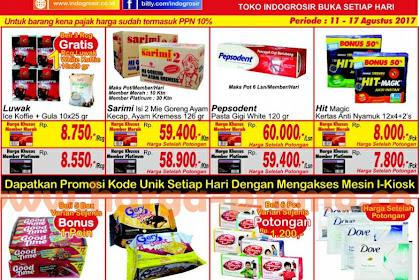 Katalog INDO GROSIR Promo INDOGROSIR 5 - 11 Juli 2019