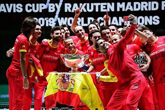 Rafael Nadal dkk Bawa Spanyol Juara Piala Davis 2019