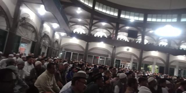 Banser Tidak Muncul, Pengajian Ustadz Zulkifli  Ali di Bangil Dihadiri Ribuan Umat Islam