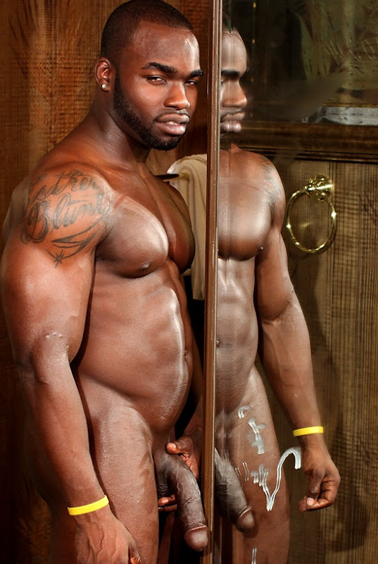 Big naked black men
