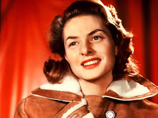 Multiple academy award winning actress Ingrid Bergman