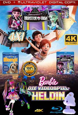 Grandes Colecciones 4X1 COMBO DVD HD LATINO