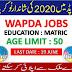 WAPDA (Water and Power Development Authority) Jobs 2020