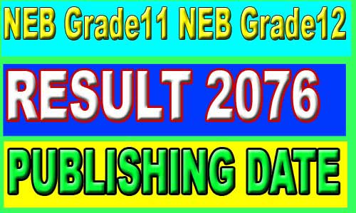 NEB result 2076 Date
