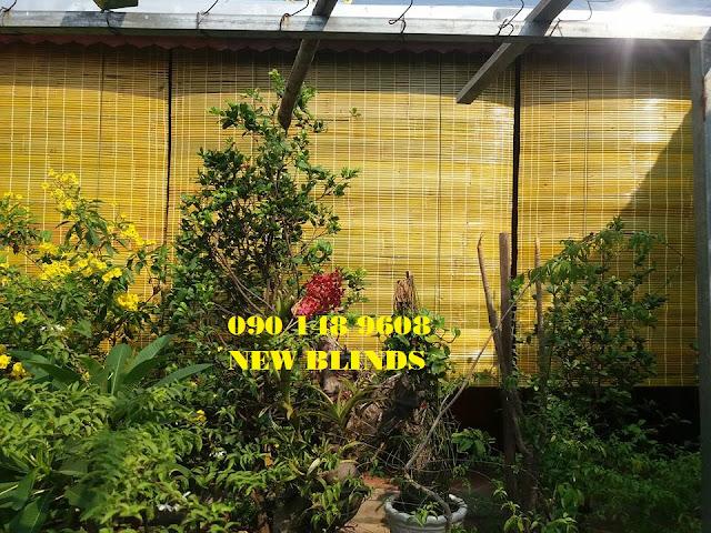Rèm Tre Trúc che nắng mưa tại quận Thủ Đức