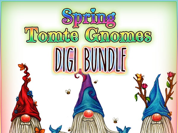 New Releases: Spring Tomte Gnomes, Valentines Tomte & Goth Girls!