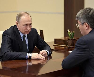 Vladimir Putin, Alexei Tsudenov.