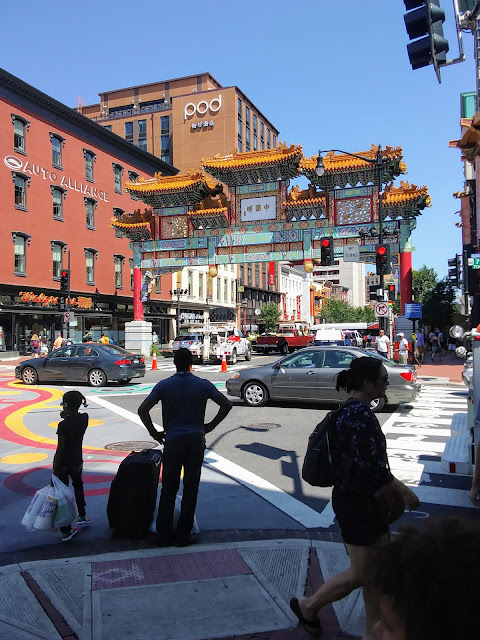 CLE to DC by Train! China Town