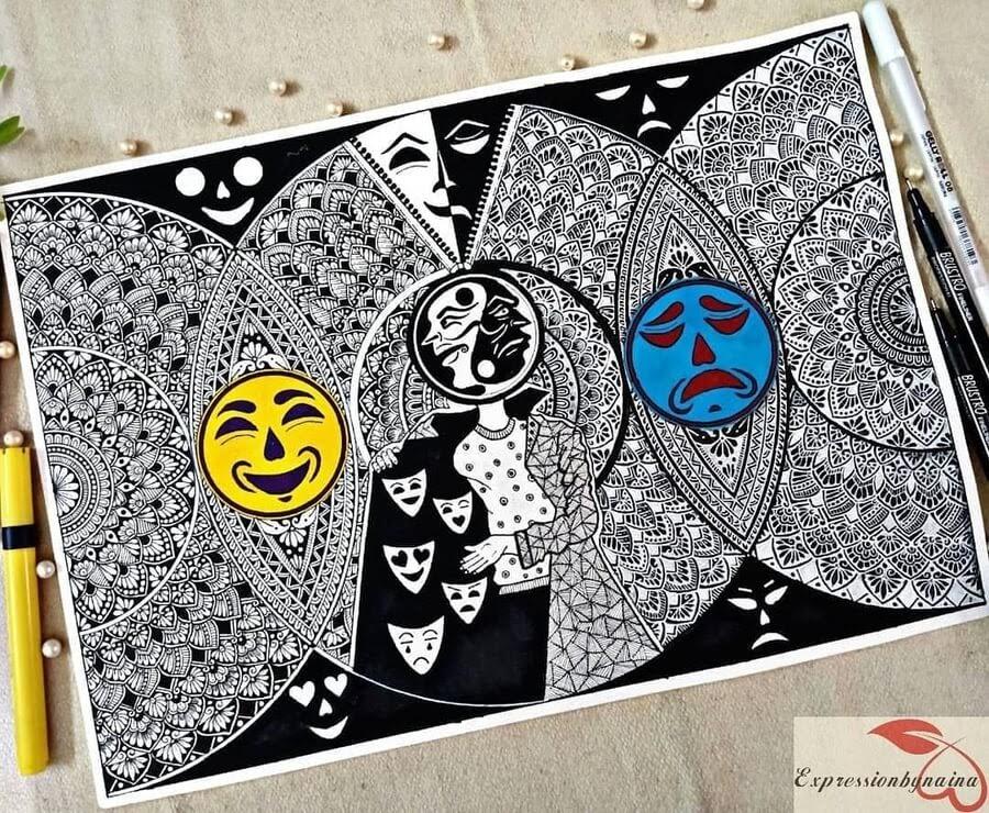 10-Happy-and-sad-face-Naina-www-designstack-co