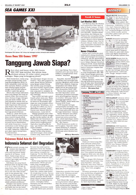 KASUS DANA SEA GAMES 1997 TANGGUNG JAWAB SIAPA