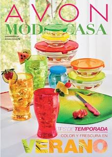 Catalogo Avon MODA & CASA Campaña 01 Enero 2016