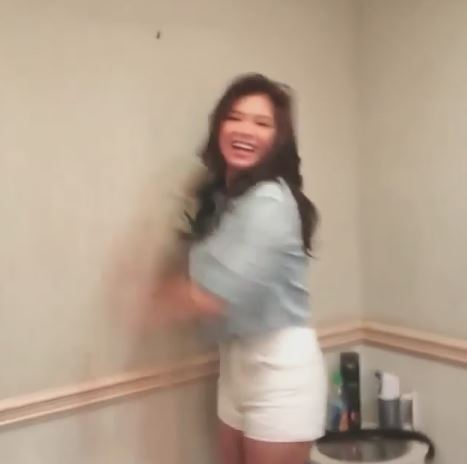 Angel Locsin Does The Ninang Dance