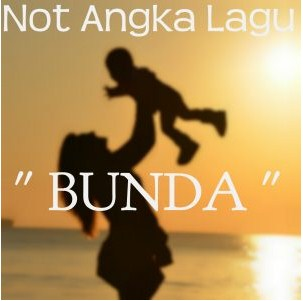 Not Angka Pianika Bunda
