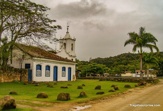 Igreja de Nossa Senhora das Dores, Paraty, Rio de Janeiro