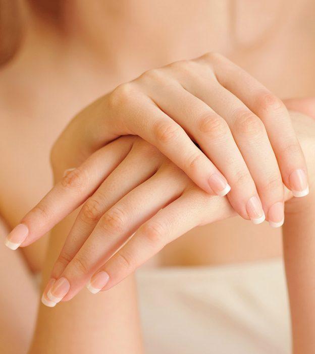 Hand whiteneing process