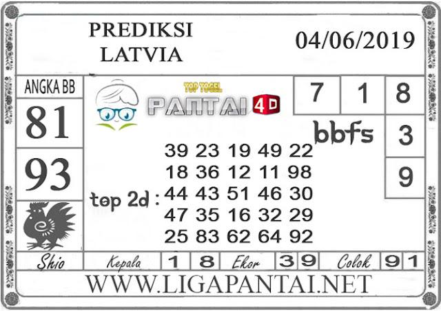 """Prediksi Togel """"LATVIA"""" PANTAI4D 04 JUNI 2019"""