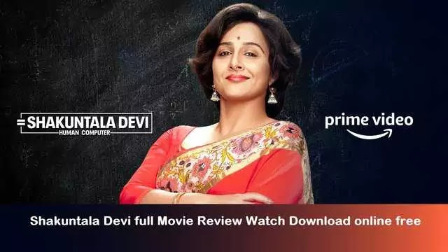 Shakuntala Devi full movie review watch download online free