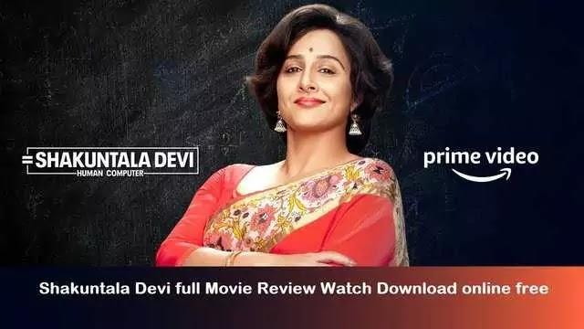 Shakuntala Devi full Movie review watch download online free
