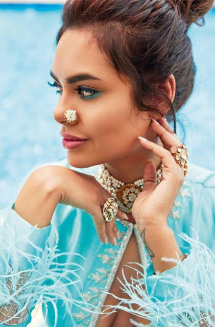 Esha Gupta features on the cover of Femina Wedding Times April issue