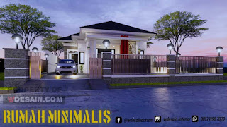 pagar rumah mewah minimalis modern