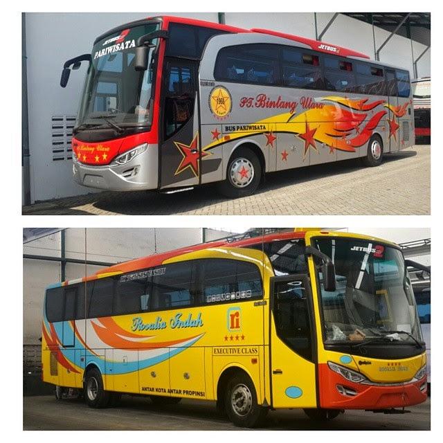 Jetbus HD 2 Travego Karoseri Adi Putro