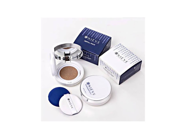 Nieve Beauty DD Cushion Treatment Foundation (Set Kombo)
