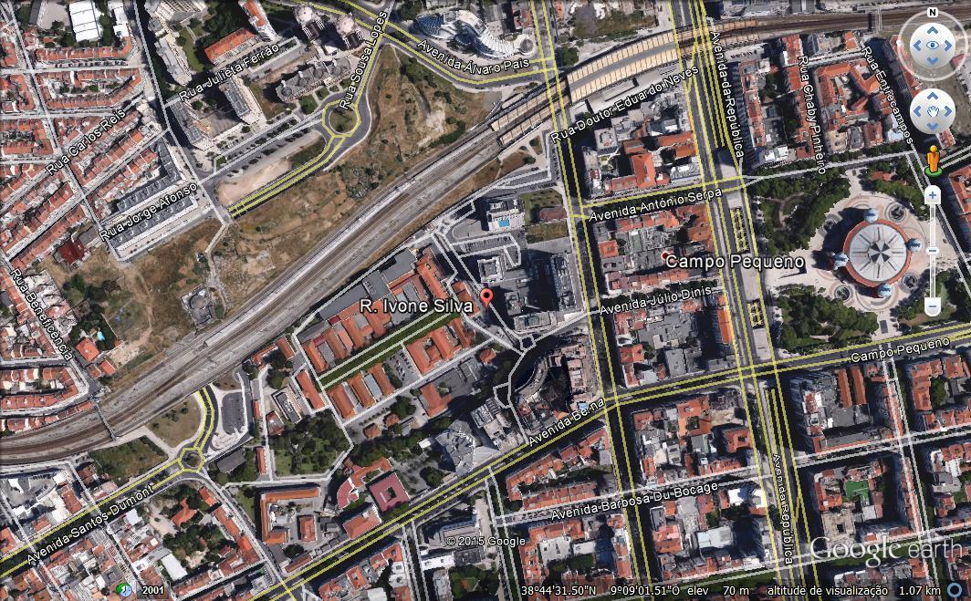 rua ivone silva em lisboa mapa RUAS DE LISBOA ALGUMA HISTÓRIA: Abril 2016 rua ivone silva em lisboa mapa