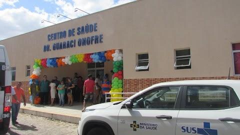 Prefeita Elijane reinaugura Centro de Saúde que homenageia Dr. Guaraci Onofre e faz história