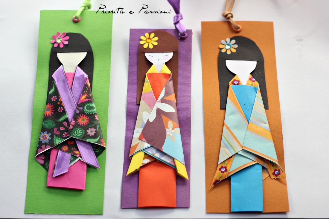 Favorito Priorità e Passioni: Origami e Segnalibri JK77