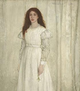 Johanna Hiffernan, modèle de Whistler