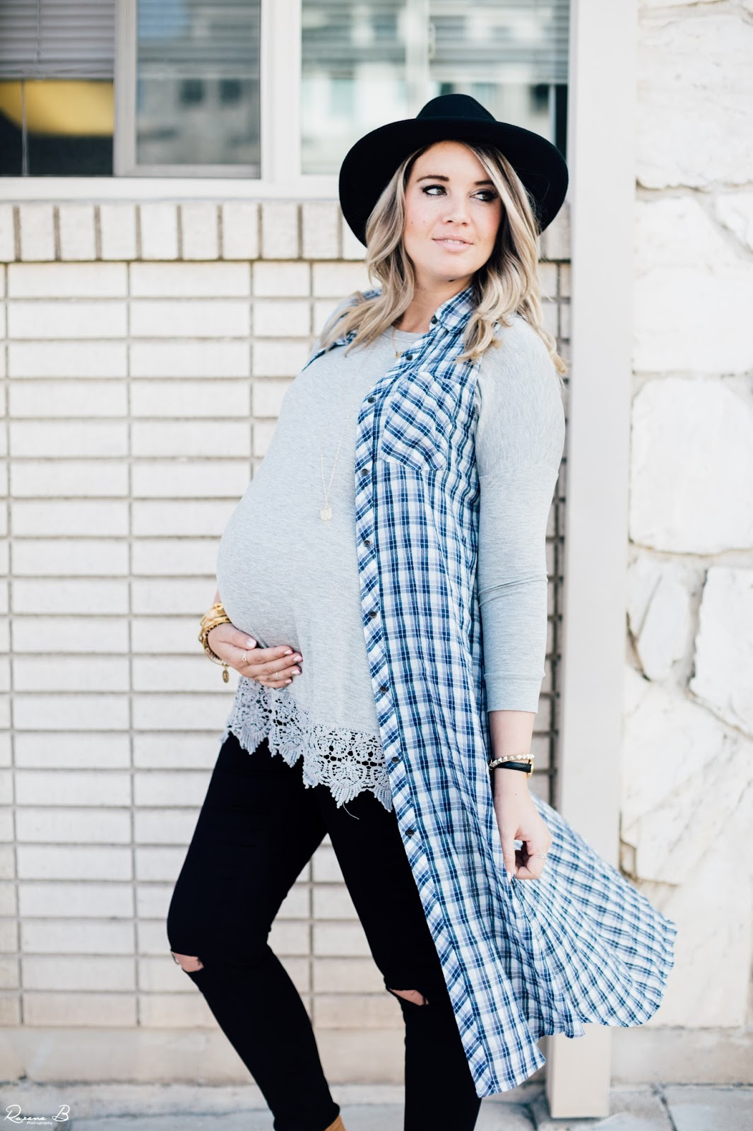 Layered Fall Outfit, Pregnant Outfit, Fall Outfit