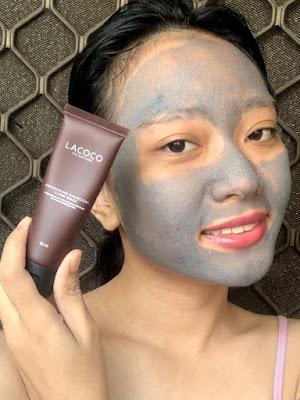testimoni lacoco amazonian charcoal glow mask