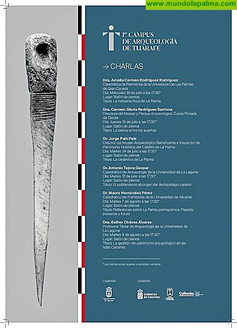 Charlas del Campus de Arqueología de Tijarafe