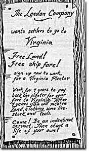 Echoes of Naked Feet  |Indentured Servants From England
